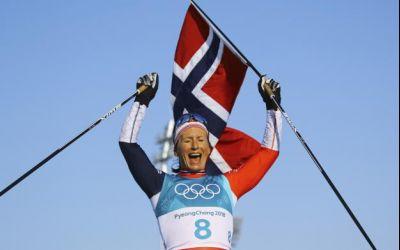 Marit Bjoergen scrie istorie cu al optulea său titlu olimpic