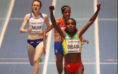 Dibaba, campioană mondială la 3000 m indoor. Bobocea s-a clasat pe 13