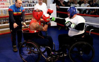 Bucureștiul a găzduit primul meci de box paralimpic