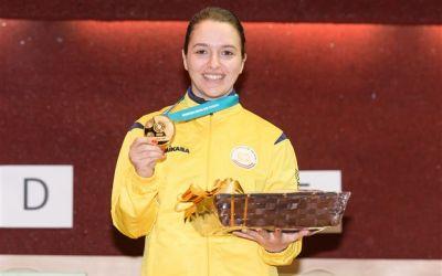 Laura Ilie-Coman, aur la Cupa Mondială de tir din Mexic