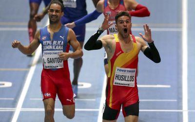 Oscar Husillos a bătut recordul Europei, dar a fost descalificat din proba de 400 m