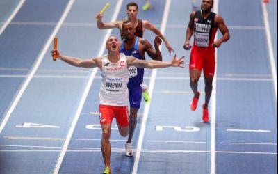 Record mondial reușit de Polonia la Mondialele de atletism
