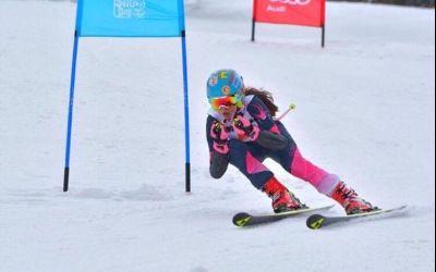 Alexandru Barbu și Leona Trifu, campionii României la slalom uriaș