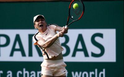 Victorie cu emoții pentru Simona Halep și calificare în optimi la Indian Wells
