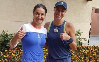 Monica Niculescu s-a calificat în sferturi la Indian Wells, la dublu