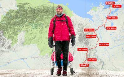 VIDEO / Tibi Ușeriu a câștigat pentru a treia oară la rând ultramaratonul arctic