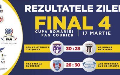 HC Dobrogea Sud și Poli Timișoara vor disputa finala Cupei României