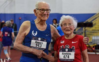 VIDEO / Recorduri mondiale pentru doi atleți de 100 și 102 ani