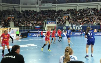 Naționala de handbal feminin a României a pierdut în Rusia