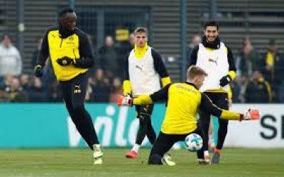 Video/ Usain Bolt a efectuat un antrenament complet cu Borussia Dortmund