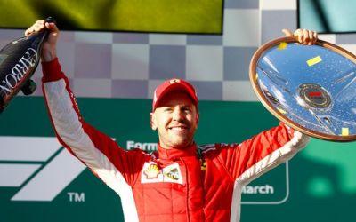 Victorie pentru Vettel în prima cursă a sezonului