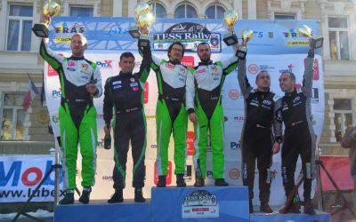 Simone Tempestini a câștigat Raliul Brașovului