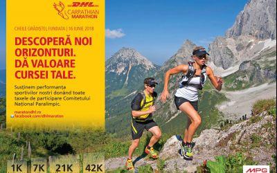 DHL Carpathian Marathon schimbă locația și a dat startul înscrierilor