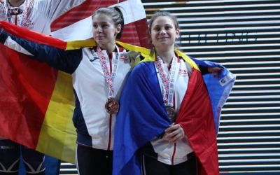 Lorendana Toma, campioană europeană la haltere. Irina Lepşa a luat argintul