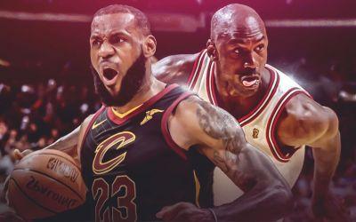 LeBron James a doborât un record al lui Michael Jordan
