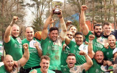 CSM București a câștigat în premieră Cupa României la rugby