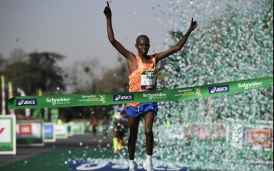 Kenyanul Paul Lonyangata a câștigat Maratonul Paris