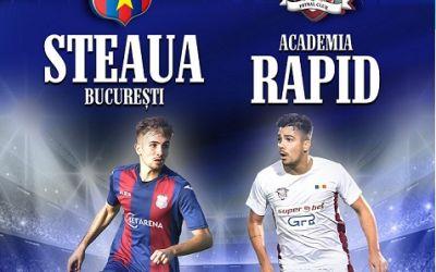 CSA Steaua a anunțat câte bilete s-au vândut pentru meciul cu Academia Rapid și câți fani așteaptă