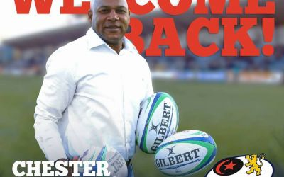 Chester Williams a revenit la Timișoara Saracens