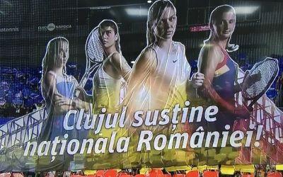 Foto. România - Elveţia, coregrafie specială în Cluj-Napoca