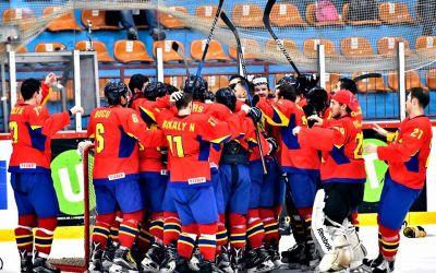 Naționala de hochei a României a pierdut primul meci de la Mondial