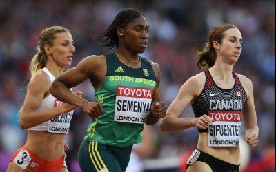 Atleta Caster Semenya, obligată să ia medicamente pentru scăderea nivelului de testosteron