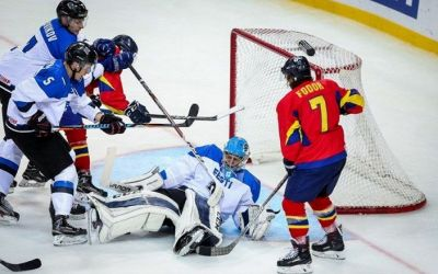 Naționala României de hochei pe gheață a pierdut și al treilea meci de la Mondial