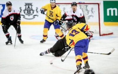 Naționala României de hochei pe gheață a pierdut în prelungiri în fața Japoniei