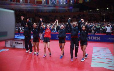 Naționala feminină de tenis de masă a câștigat grupa și s-a calificat în sferturi la Mondiale