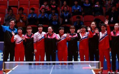 Politica influențează sportul. Moment istoric la Mondialele de tenis de masă: Coreea de Sud își unește forțele cu Coreea de Nord