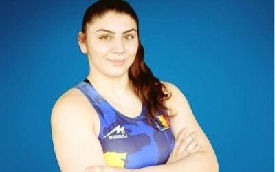 Alexandra Anghel, medaliată cu bronz la Europenele de lupte