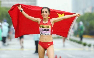 Marșul, specialitate asiatică. Liang Rui, campioană mondială și record la 50 km