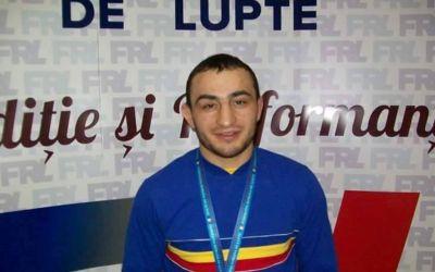 Ivan Guidea, medaliat cu bronz la Europenele de lupte
