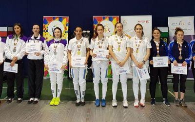 CSA Steaua Bucureşti este campioană naţională la floretă feminin pe echipe