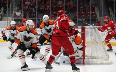 Cel mai lung meci din istoria AHL! Charlotte Checkers și Lehigh Valley Phantoms s-au duelat până în a cincea repriză de prelungiri