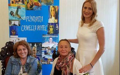 Camelia Potec demarează o campanie prin care vrea să introducă orele de înot în școli