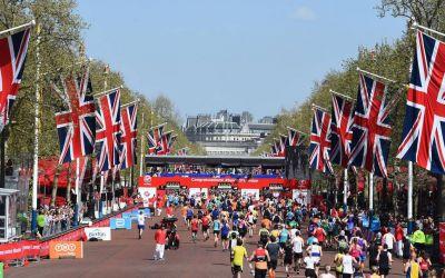 Record de înscrieri la Maratonul Londrei: 414 000 de alergători