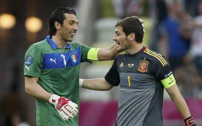 Moment de cotitură pentru doi portari legendari, Buffon și Casillas