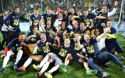 Parma promovează în Serie A pentru prima dată după faliment