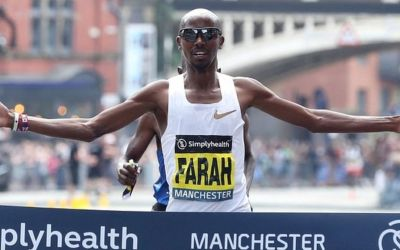 Mo Farah câștigă The Great Run of Manchester