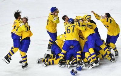 Suedia a câștigat Campionatul Mondial de hochei pe gheață