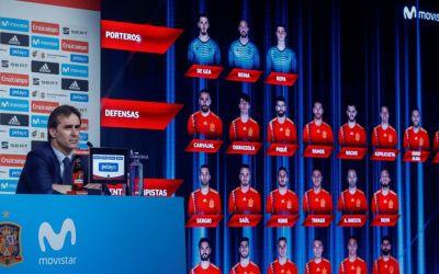 Spania a anunțat lotul pentru Cupa Mondială. Morata, Fabregas și Vitolo nu au fost convocați
