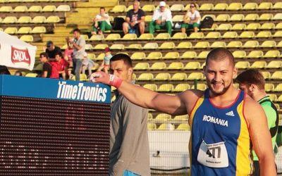 Andrei Gag, argint la reuniunea IAAF World Challenge de la Osaka