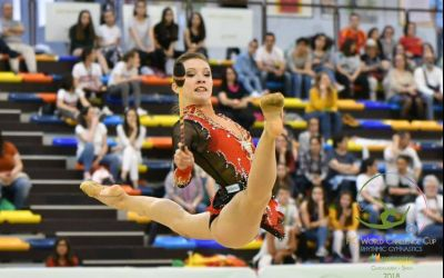 Andreea Verdeș și Denisa Mailat au obținut medalii de argint și de bronz la Cupa Irina Deleanu de gimnastică ritmică