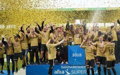 FC Midtjylland este noua campioană a Danemarcei