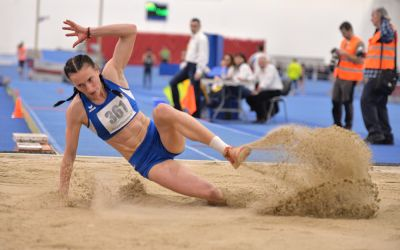 Elena Panțuroiu, Ligia Bara și Valentin Toboc au câștigat probele de sărituri de la Internaționalele de Atletism ale României
