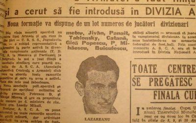 CSA Steaua împlinește 71 de ani. Iată cum a fost fondat clubul militarilor