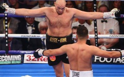 Tyson Fury a câștigat primul meci după pauza de 32 de luni