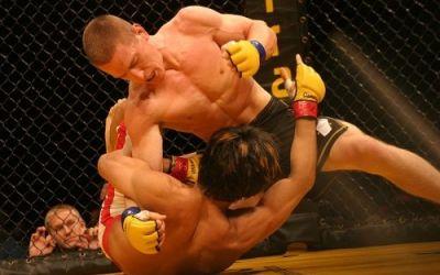 Becleanul va asista la cea mai tare gala de arte martiale mixte din istorie
