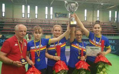 Farul Constanța este campioana României la tenis de masă feminin